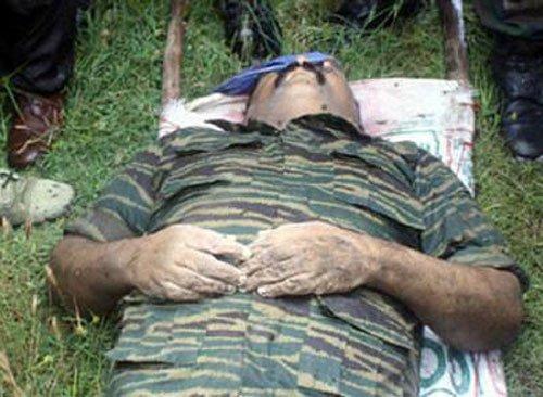 Sri Lankan army blows up Prabhakaran's underground bunker