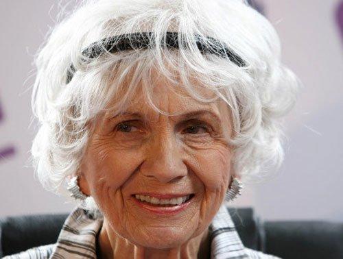 Alice Munro wins Nobel Literature Prize