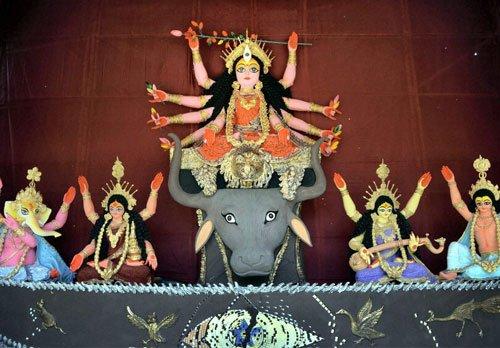 Spirited Mahanavmi celebrations in Bengal