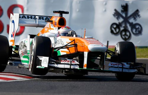 Force India fail to score points in Japan