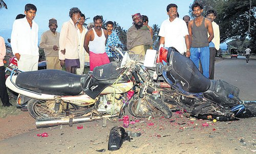Student, banker killed as bikes collide in CB Pur