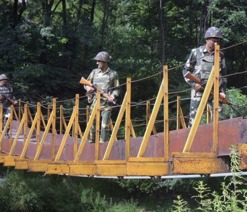 BSF lodges protest with Pak over ceasefire violations