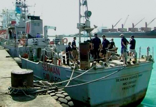 Remaining two crew of US ship arrested; 3 diesel agents held