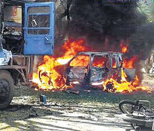 City police file charge sheet in Malleswaram bomb blast case