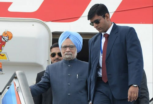 PM leaves on Russia, China visit