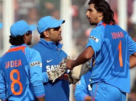 India retains Ishant for remaining ODIs