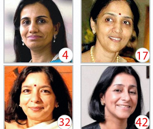 4 Indian women among top biz leaders