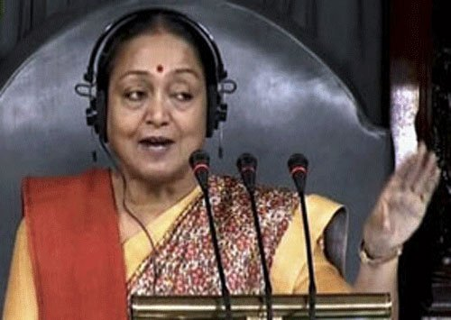 Pained that monsoon session lost 73.30 hours: Meira Kumar