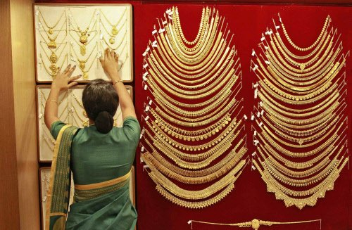Gold surges ahead on frenzied buying, festive demand soars