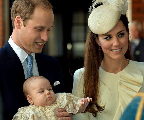 Britain's Prince George baptised at private ceremony