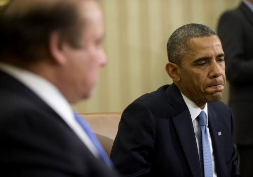 Obama says 'no' to Sharif on Kashmir, nuclear parity