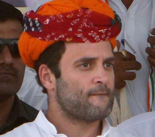 BJP complains to EC against Rahul's speeches in Raj