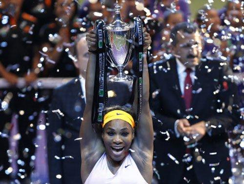 Serena caps season in great style
