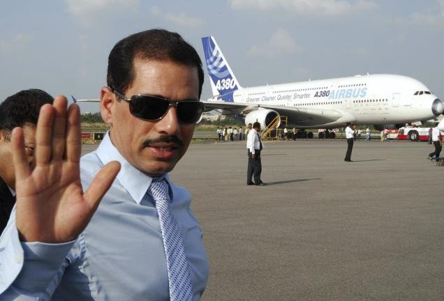 SC throws out PIL on Robert Vadra