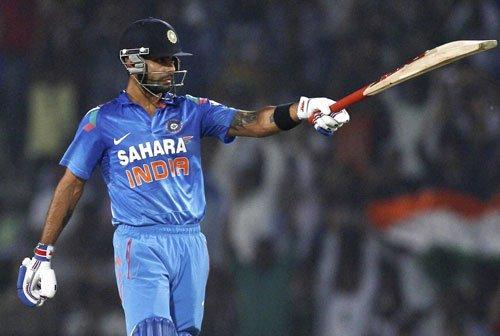 Kohli, Dhawan centuries help India to another stunning chase