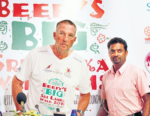 Beefy's walk for a cause