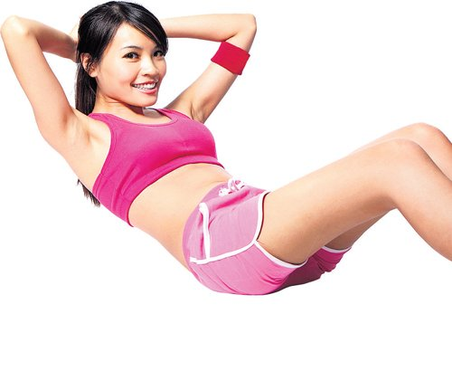 Teen fit the budding body