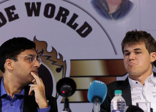 Anand happy that championship is finally on!