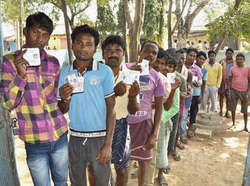 Madhya Pradesh records highest voter turnout