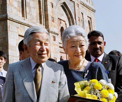 Japanese Emperor, wife take Sunday stroll in Lodhi Gardens