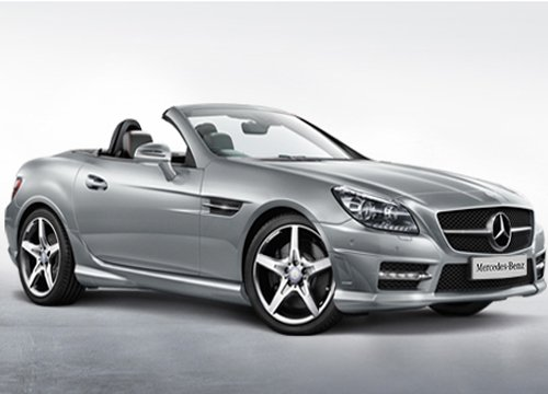 Mercedes launches SLK 55 AMG model priced at Rs 1.26 cr
