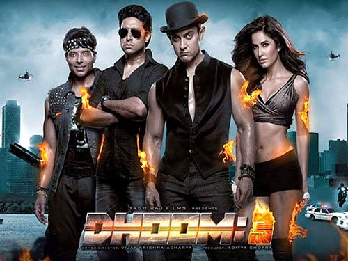 Don't show 'Dhoom 3' illegally: Delhi court