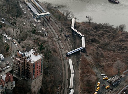 NYC crash train nearly three times over speed limit