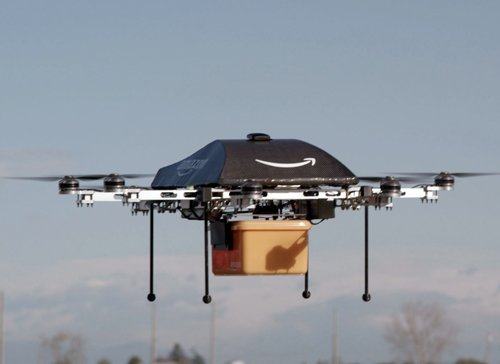 Idea of package delivery by drone tickles the world