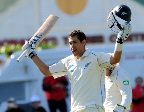 Taylor double ton puts New Zealand in charge