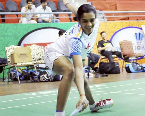 I am gaining in confidence: Sindhu