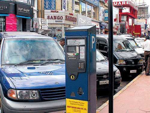 Nod for hefty parking fees in core Bangalore areas