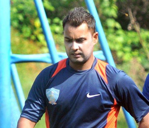 Saini strikes ton in Haryana's 247 all out vs Karnataka