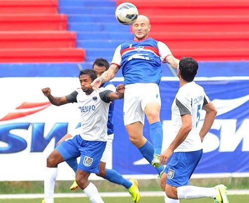 I-League: Bengaluru FC beat Churchill, extend lead at top