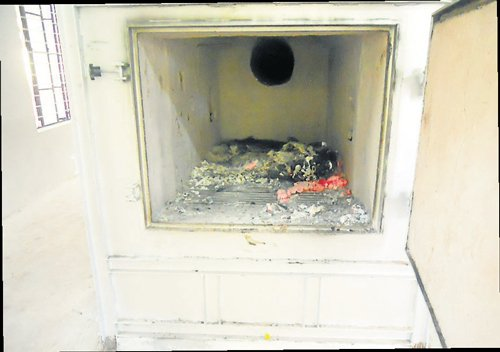 Zoo's incinerator finally put to use