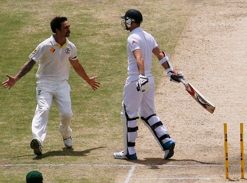 Johnson's seven wickets to destroy England