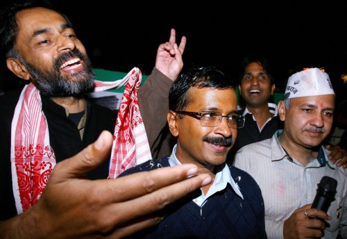 Twitter abuzz with comments about Aam Aadmi Party