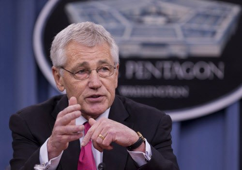 Hagel asked to explain exclusion of Sikhs from US military