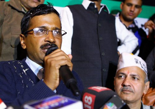 Kejriwal rules out support to BJP