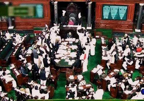 LS proceedings paralysed for fourth successive day