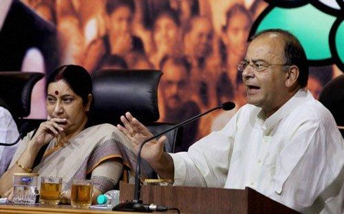 Cong blocking passage of Lokpal Bill: BJP