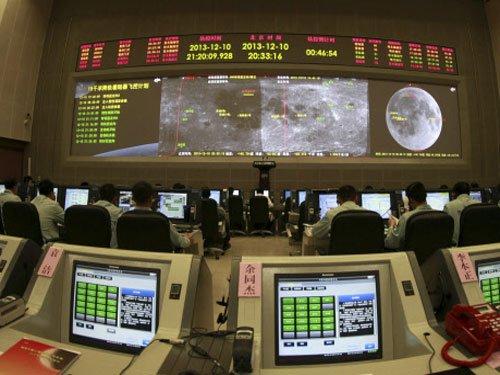 China's lunar probe soft-lands on moon