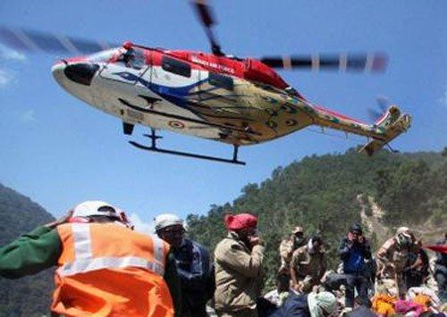 India delivers Dhruv chopper to Maldives