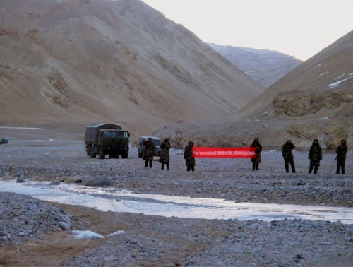 Chinese troops apprehend Indians in Chumar