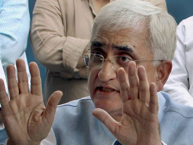 No point opposing Lokpal Bill after Anna's consent: Khurshid