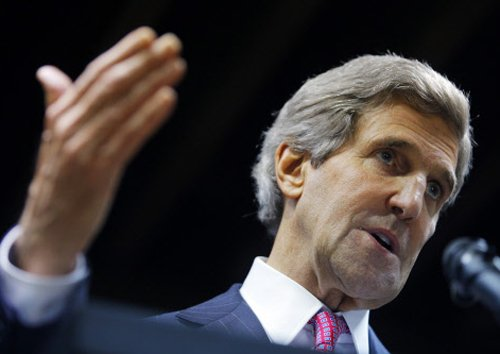 Kerry ignores diplomatic protocol to discuss diplomat's case