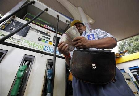 Petrol price hiked by 41 paise, diesel by 10 paise