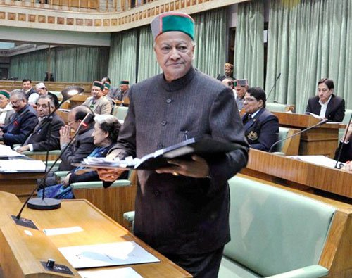 Nothing wrong if family had shares in firm: Virbhadra