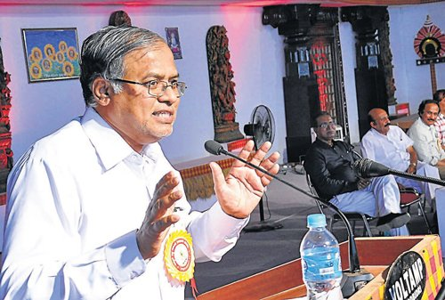 'More politics in literature than in political parties'