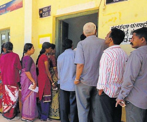 65.6 pc polling in Madikeri