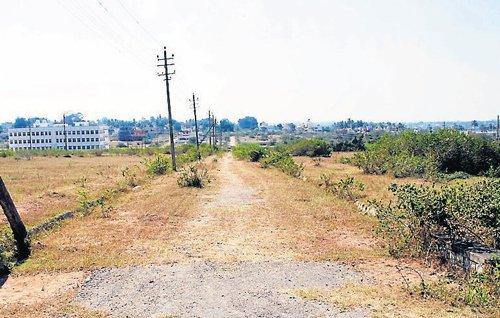 Satyamangala layout yet to see development